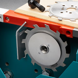 2-axis scoring saw unit
