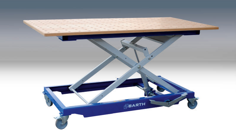 Lifting table 300 XL with options